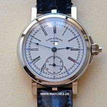 Lang & Heyne Albert Chronograph Platinum White Enamel Dial