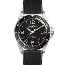 Bell & Ross Steel 41mm Automatic BRV292-HER-ST/SRB new