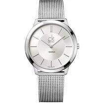 ck Calvin Klein Steel 35mm Quartz K3M22126 new