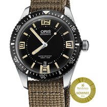 Oris Divers Sixty Five new 2018 Automatic Watch with original box and original papers 01 733 7707 4064-07 5 20 22
