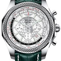 Breitling Bentley B05 Unitime Сталь 49mm Белый Без цифр