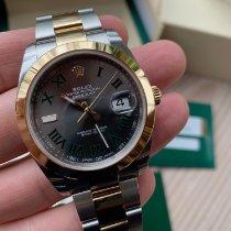 Rolex Datejust Acero y oro 41mm Sin cifras