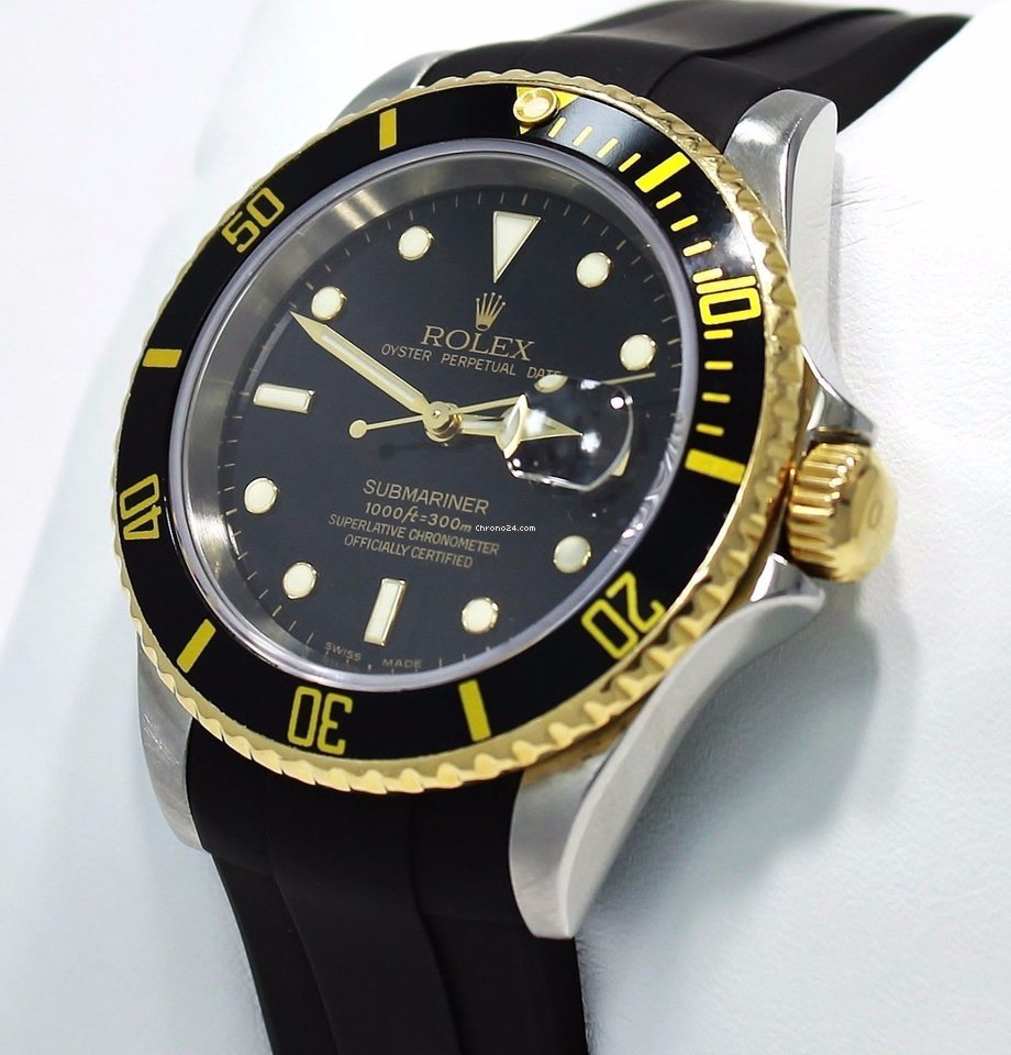 Rolex Submariner Date 16613 Sultan pre-owned