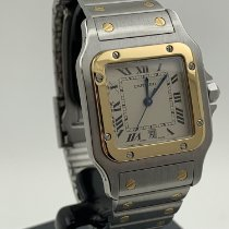 Cartier Santos Galbée gebraucht 29mm Gold/Stahl