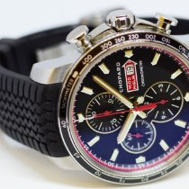 Chopard Chronograph 44mm Automatic pre-owned Mille Miglia Black