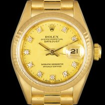 Rolex Lady-Datejust Yellow gold 26mm Champagne No numerals United Kingdom, London