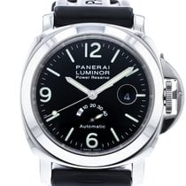 Panerai Luminor Power Reserve Steel 44mm Black United States of America, Georgia, Atlanta