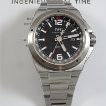 IWC IW324402 Staal 2015 Ingenieur Dual Time 43mm tweedehands