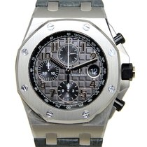 오드마피게 Royal Oak Offshore Chronograph 스틸 42mm 회색