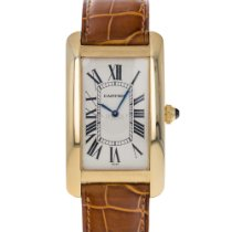 Cartier Tank Américaine Yellow gold 26mm White Roman numerals United States of America, Maryland, Baltimore, MD