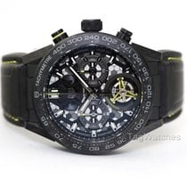 TAG Heuer Titanium Automatic Transparent No numerals 45mm new Carrera Heuer-02T