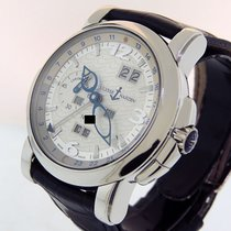 Ulysse Nardin GMT +/- Perpetual Platinum 42mm Silver Arabic numerals United States of America, California, Los Angeles