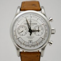 Carl F. Bucherer Steel Automatic Silver 432mm pre-owned Manero