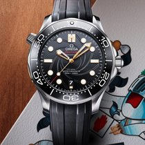 Omega 210.22.42.20.01.004 Acél 2019 Seamaster Diver 300 M 42mm új