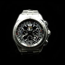 Breitling B-2 Steel 44mm Black No numerals