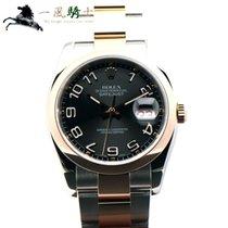 Rolex Datejust Steel 36mm Black