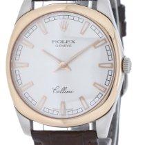 Rolex Cellini Danaos Or blanc 38mm Argent Sans chiffres France, Lyon