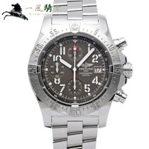 Breitling Avenger Skyland Steel 45.4mm Grey