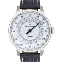 Meistersinger Steel 43mm Automatic AD901 new United States of America, New Jersey, Cresskill