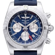 Breitling Chronomat 44 GMT Metallica-Blau AB042011.C851.143S.A...