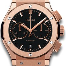 Hublot Classic Fusion Chronograph Rose gold 45mm Black United States of America, New York, Airmont
