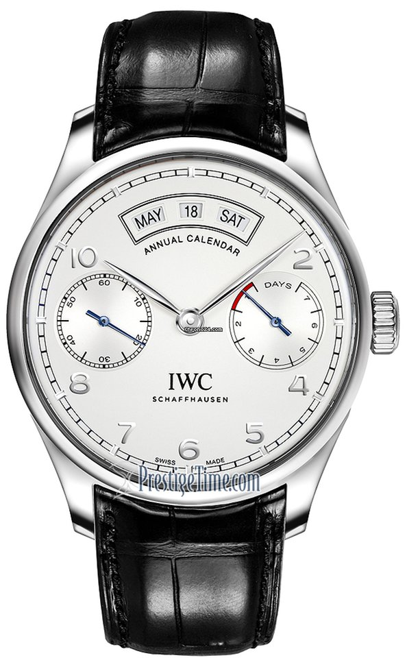 31e45758a14 New IWC Portuguese Annual Calendar Watches for Sale - Explore a Wide  Selection at Chrono24