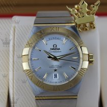 Omega 123.20.38.22.02.002 Constellation Day-Date Yellow Gold