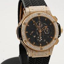 Hublot Aero Bang Skelleton Big Bang rose gold diamonds 44mm...