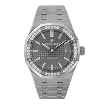 Audemars Piguet Royal Oak Lady Steel 37mm Black No numerals United States of America, New York, New York