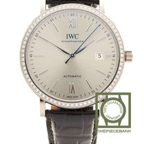 IWC Portofino Automatic Witgoud 40mm Zilver Romeins