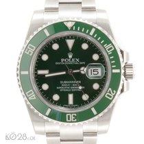 Rolex Submariner Date 116610LV green HULK Unworn 08/16 EU