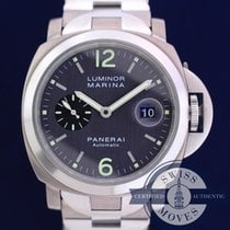 Panerai 44mm Automatic 2002 pre-owned Luminor Marina Automatic Grey