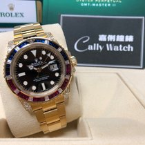 Rolex 116758SARU Yellow gold 2018 GMT-Master II 40mm new