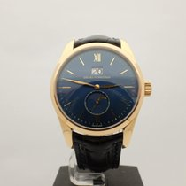 Girard Perregaux Rose gold Automatic Blue 40mm pre-owned 1966