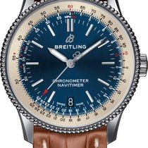 Breitling A17325211C1P2 Stahl Navitimer neu