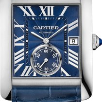 Cartier Tank MC Steel 44mm Blue Roman numerals United States of America, New York, New York