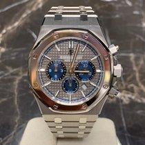 Audemars Piguet Royal Oak Chronograph Titan 41mm Grau Keine Ziffern