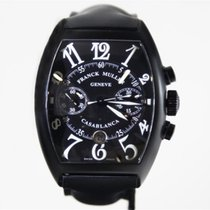 Franck Muller Chronograph Automatic pre-owned Casablanca Black