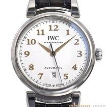 IWC Da Vinci Automatic Stål 40,4mm Silver Arabiska