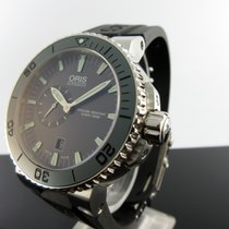 Oris Aquis Small Second new 2020 Automatic Watch with original box and original papers 01 743 7673 4157-07 4 26 34EB