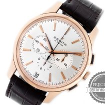 Zenith Captain Chronograph Rose gold 42mm Silver No numerals United States of America, Pennsylvania, Willow Grove