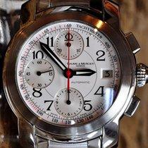 Baume & Mercier Capeland M0A08379 BAUME & MERCIER Capeland Chrono Acciaio Bianco 39mm 2020 neu