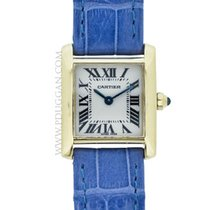 Cartier Tank Française pre-owned 25mm Yellow gold