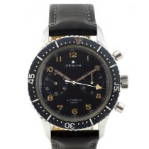 Zenith Steel 43mm Manual winding Zenith 25012 pre-owned United States of America, New York, New York
