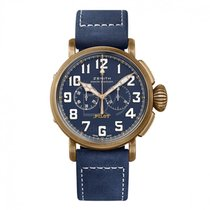 Zenith Automatic Blue Arabic numerals 45mm new Pilot Type 20 Extra Special