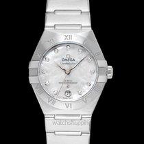 Omega Constellation Steel 29mm White