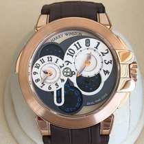 Harry Winston Rose gold 44mm Automatic 400-MATZ44R pre-owned