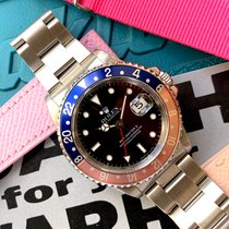 Rolex 16710 Steel 1995 GMT-Master II 40mm pre-owned United States of America, Florida, Coral Gables