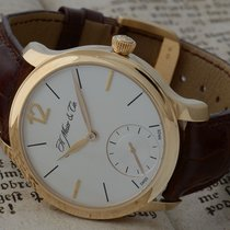 H.Moser & Cie. new Manual winding Power Reserve Display 38.8mm Rose gold Sapphire Glass
