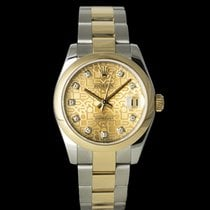 Rolex Lady-Datejust 178243 Very good Gold/Steel 31mm Automatic